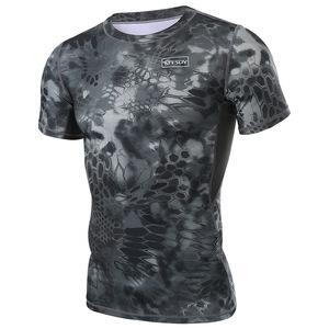 户外军迷T恤男 弹力透气速干短袖511圆领短袖迷彩服饰体能战术t恤