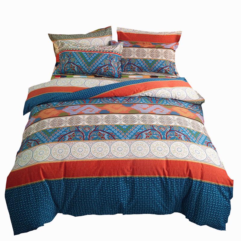 反季清仓100%全棉加厚磨毛四件套纯棉家纺床单被套床上用品秋冬季