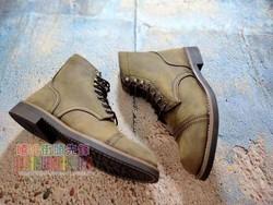 英伦男靴短靴男子马丁靴子真皮男靴军靴皮靴男机车靴特种兵马丁靴