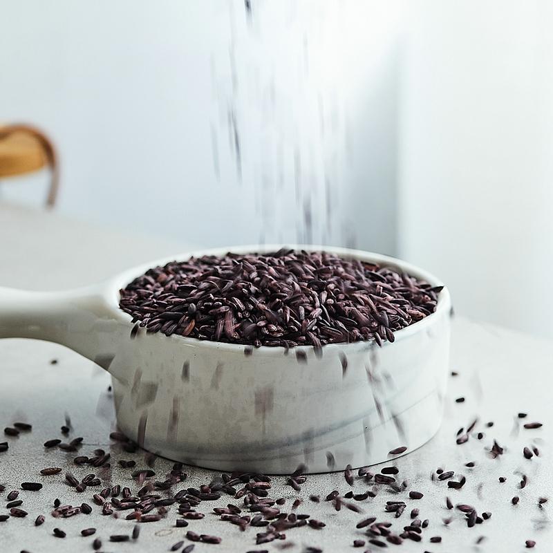 天然云南农家紫米 紫糯米血糯米杂粮干货土特产粗粮400g