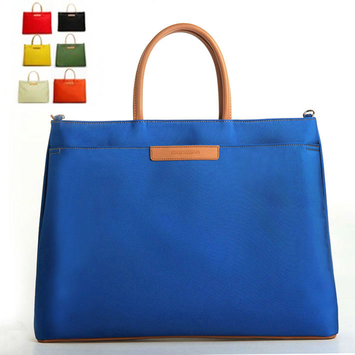 Export fashion commuter nylon portable briefcase 12 inch 14 inch Laptop file business case womens bag