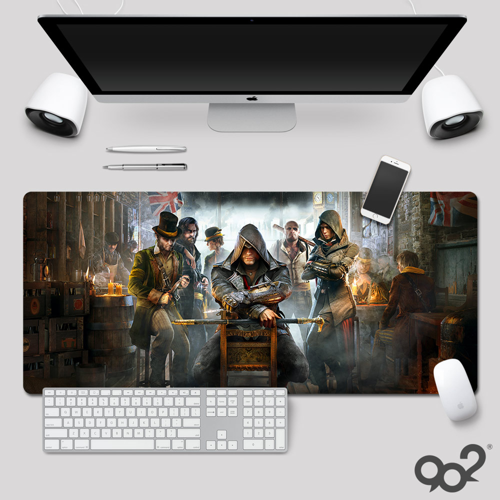 Assassins Creed mouse pad game large table mat custom origin Xiao Xiong revolution thickened rubber pad DIY