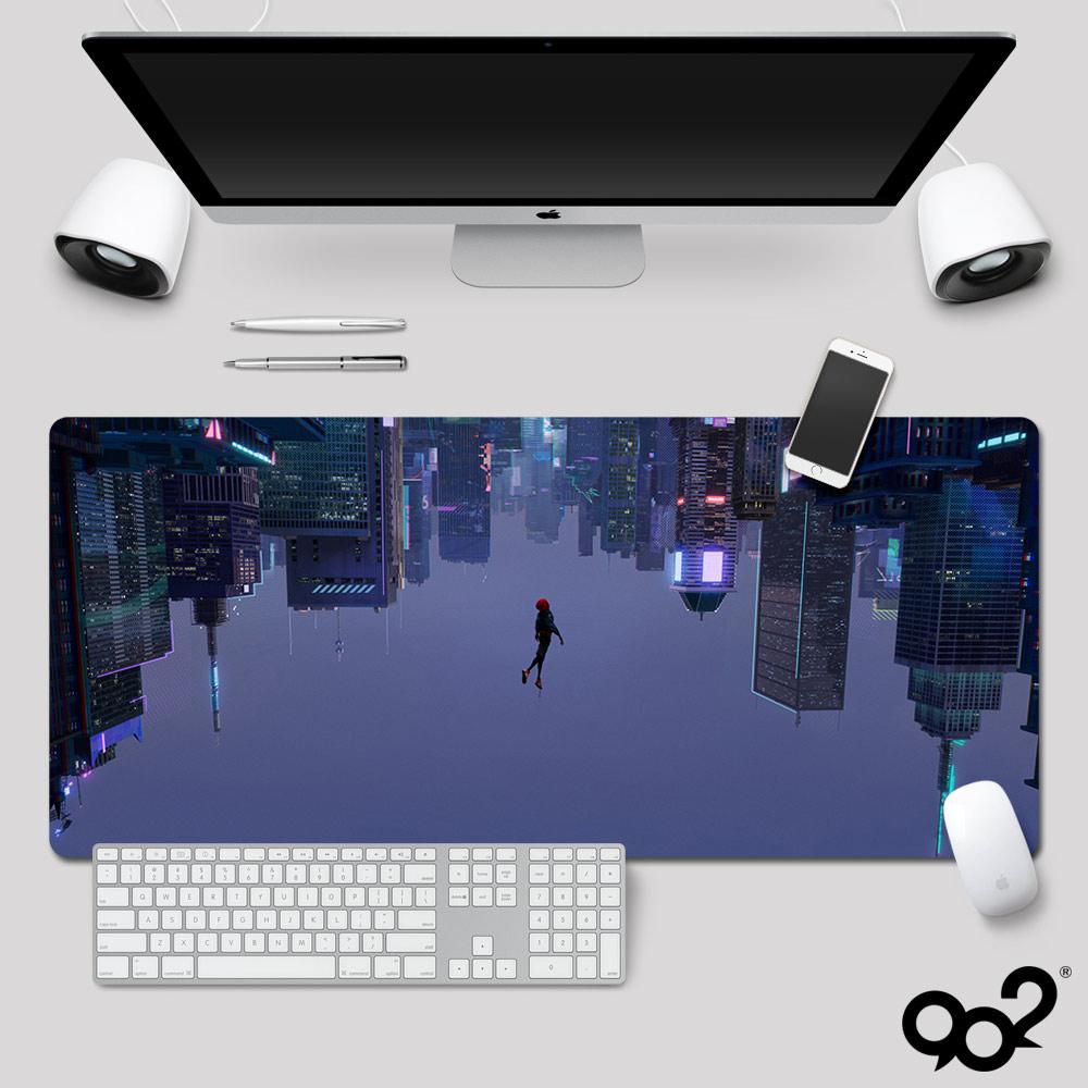 蜘蛛侠平行宇宙鼠标垫定制 平行世界电影键盘垫打印 电脑桌垫diy