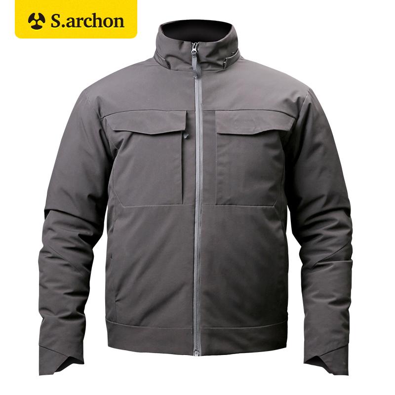 Держать политика офицер на открытом воздухе через посещаемость тактический куртка мужчина теплые хлопок одежда геометрическом холодный ветровка армии вентилятор тактический пальто