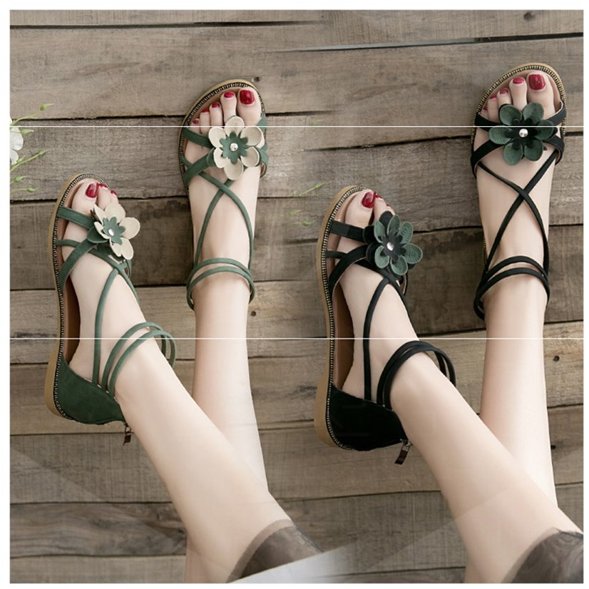 Lovely lady sandals. Simple. I with cheongsam fashion womens style pregnant women breathable fashion small fresh small heel 2019