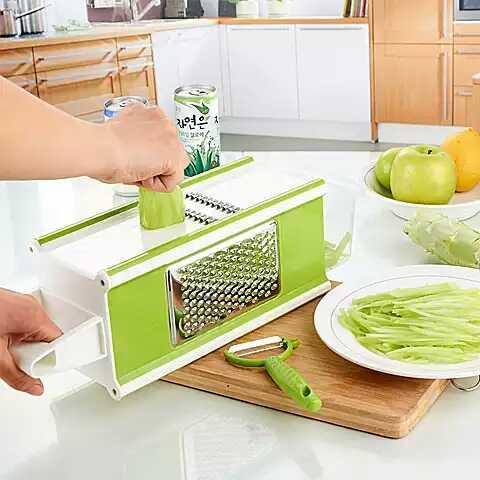 多功能切菜器神器土豆丝切丝器护手插菜板擦丝器擦菜切片器刨丝器