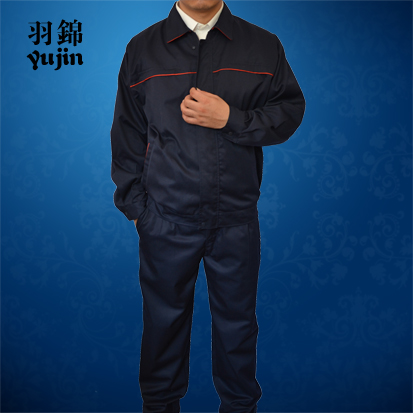 Factory uniform, electronic factory, shipyard, power grid factory, three anti oil, water repellent, anti-static work clothes can be customized