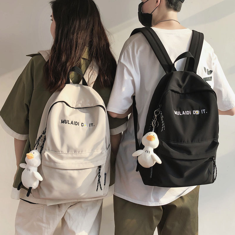Female senior high school students large capacity ins style junior high school students Mori male Backpack
