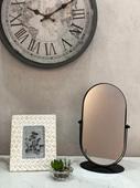 北欧ins化妆镜网红美妆镜 复古桌面台式 梳妆镜 欧式