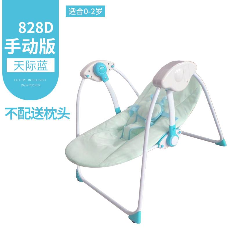 哄娃神器婴儿电动摇椅宝宝摇篮带娃哄睡躺椅安抚椅新生儿童摇摇床