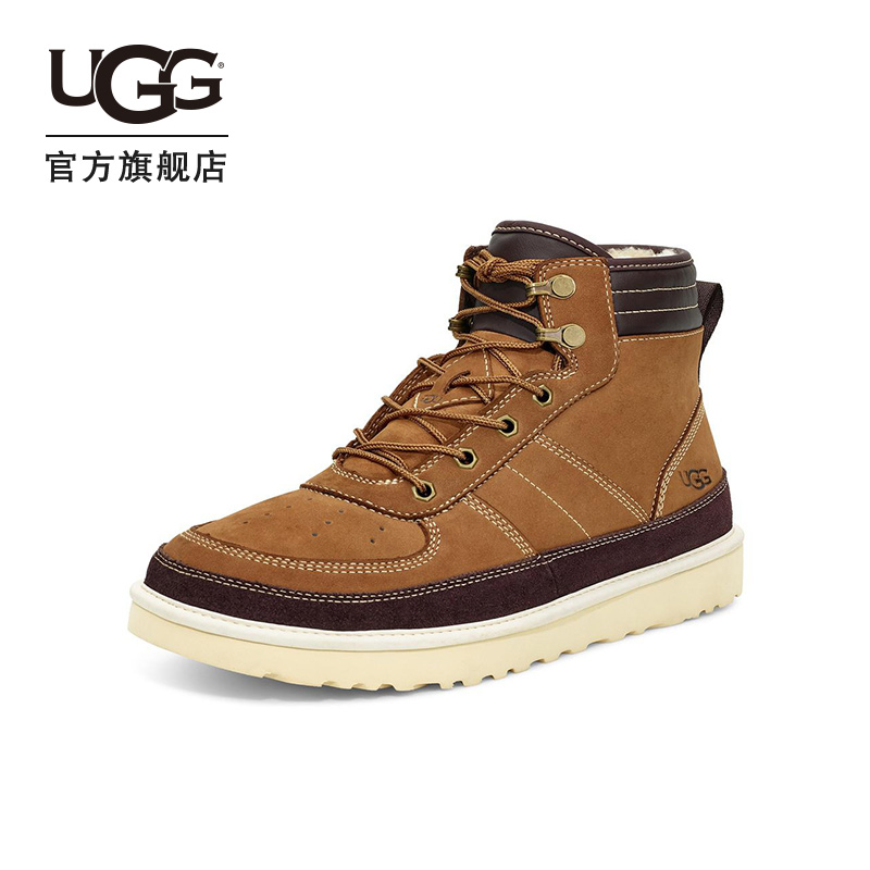 UGG winter men's classic boots Hyland series sports boots rider boots Martin boots 1097089