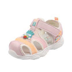 几米熊儿童凉鞋2020夏季幼儿机能鞋女学步鞋男宝宝沙滩鞋矫正防滑