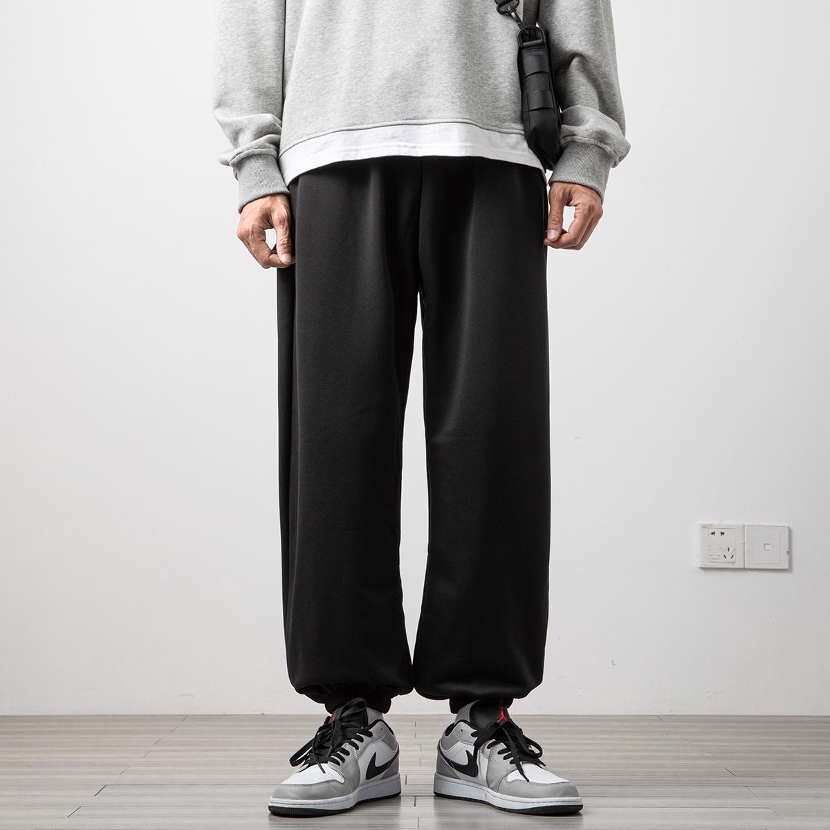 2021 new mens casual pants simple, loose and versatile fashion printed pant pants a110-k612-tp25