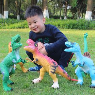超大号仿真软胶发声恐龙玩具6模型