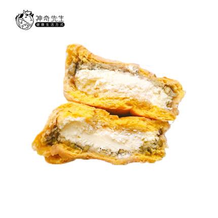 神奇先生绿豆泥南瓜奶酪无糖无油全麦低卡粗杂粮手工早餐面包欧包