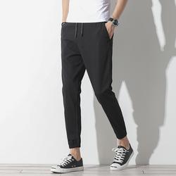 夏季冰丝男士运动休闲裤薄款丝滑速干裤九分裤 集合7092-6803-p28