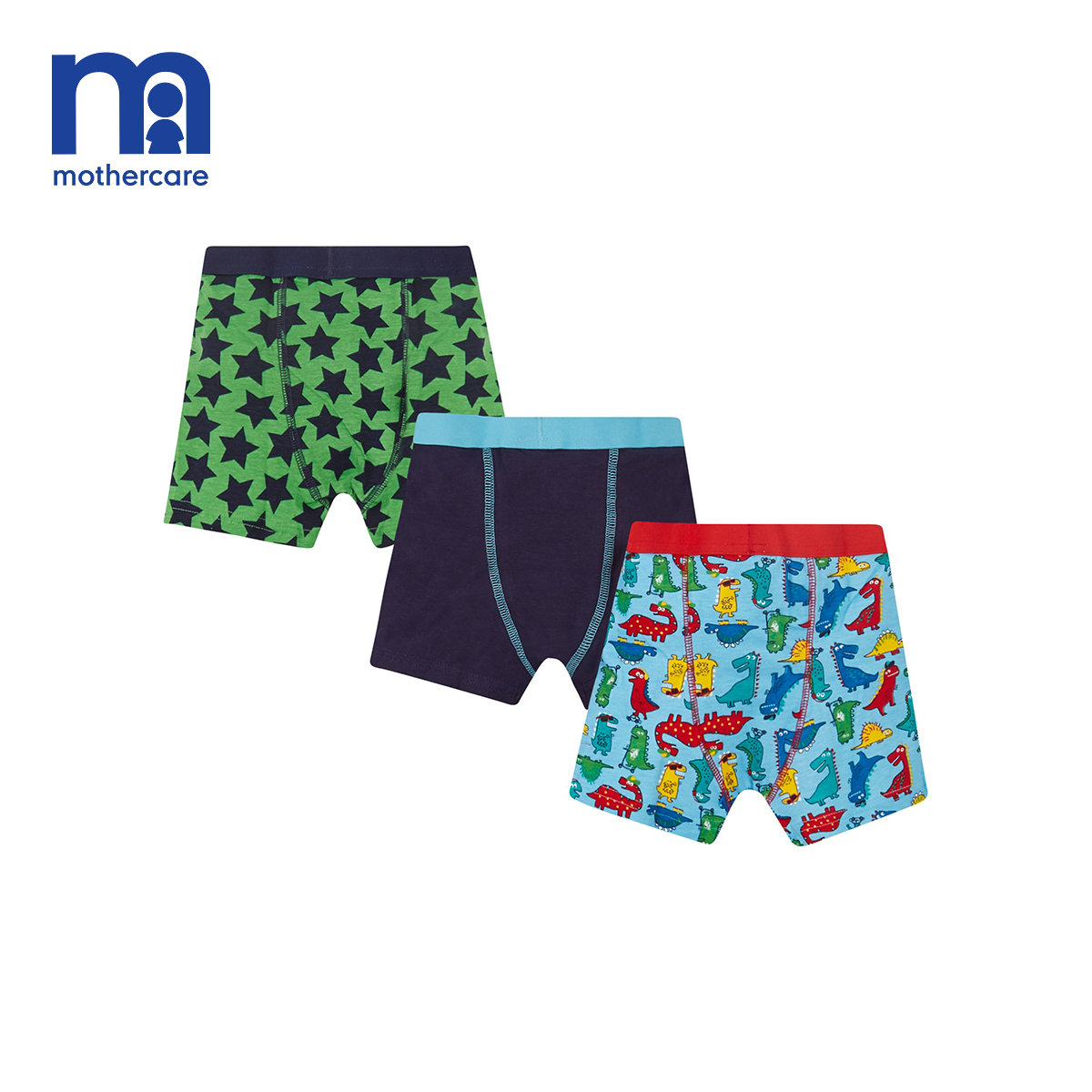 mothercare英國男童內褲男孩三角褲3條裝中大童男童四角褲