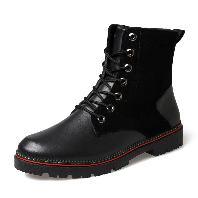 馬丁靴軍靴 潮流 男鞋皮靴雪地 棉鞋工裝短靴高幫男靴子