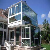 Sunshine House Double Hollow Tempered glass top sunshine Room terrace Sunshine Room design Villa Sunshine Room Price