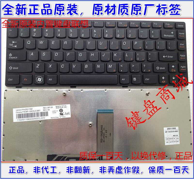 全新原装 联想M490 M495 G475AX G470AH G470AP B4400 笔记本键盘