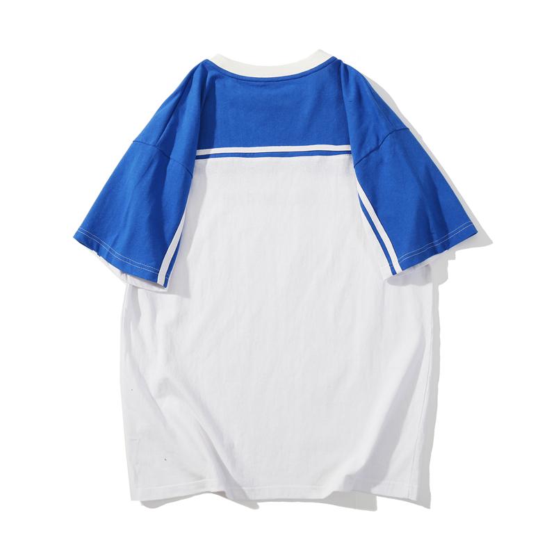 纯棉大码宽松T恤 字母潮男圆领半袖T恤 1962-P3088.00元包邮