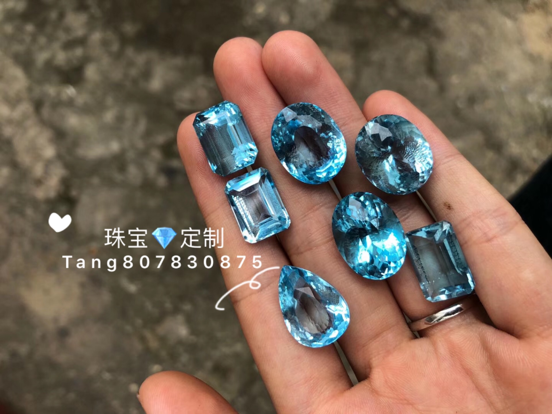All kinds of gemstones, bare stones, inlay fee links, consult customer service before shooting