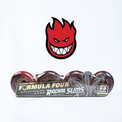 我是我55滑板店正品SPITFIRE小火人F4滑板轮子专业街式动作轮多款