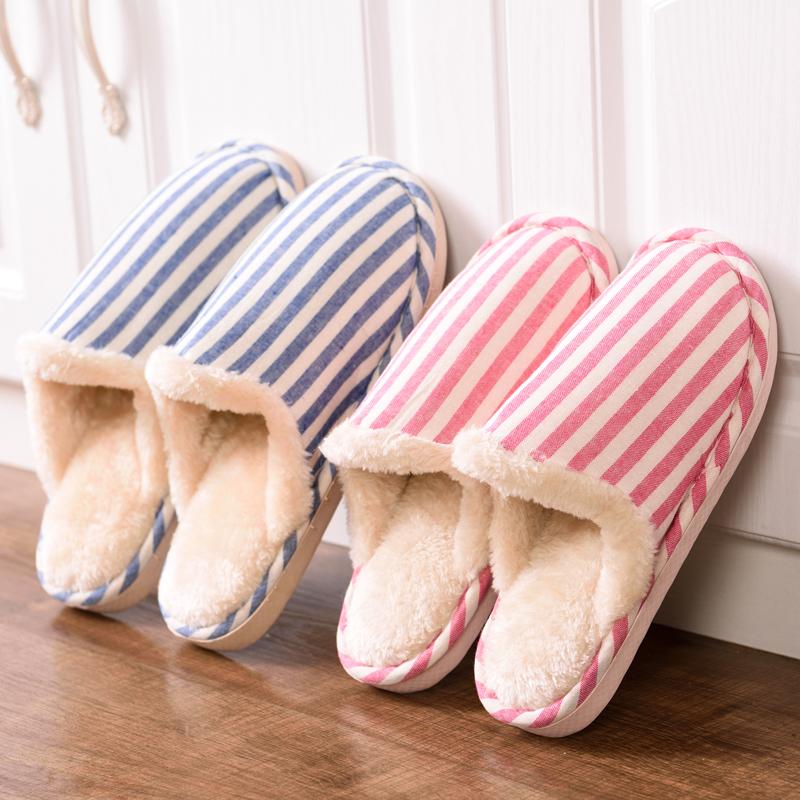 天天特价秋冬季棉拖鞋男女情侣保暖月子鞋防滑软底棉拖鞋女家居鞋