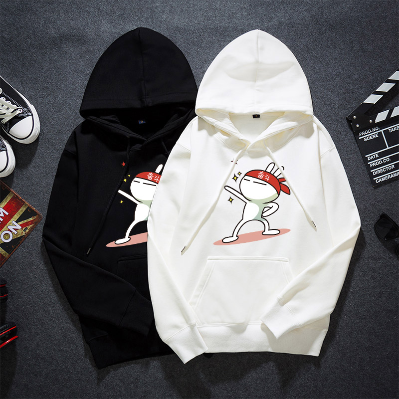Fall 2019 New Style Mens Hoodie trend Korean youth student mens thin Pullover Jacket