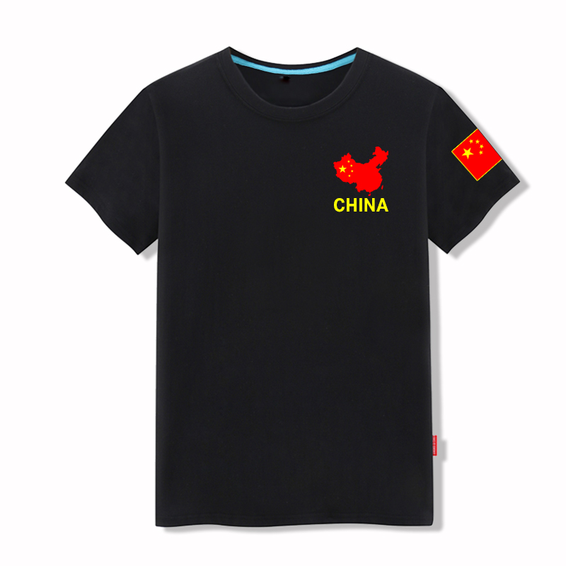 中国旗军迷短半袖男特种兵t恤部队军装八一建军节战友聚会t恤定制