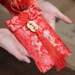 创意鼠年利是封过年结婚用高档红包给闺蜜送礼婚礼敬茶改口红包袋