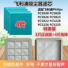 适配飞利浦吸尘器配件过滤网滤芯过滤器FC5822FC5823FC5225FC5826