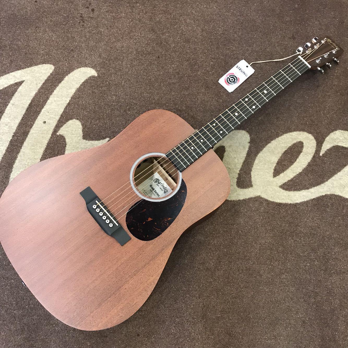 マーティンティンティンD 10 E 01全シングルサウンドトラック民謡D 10 E-01ギター専門のオールシングルギター