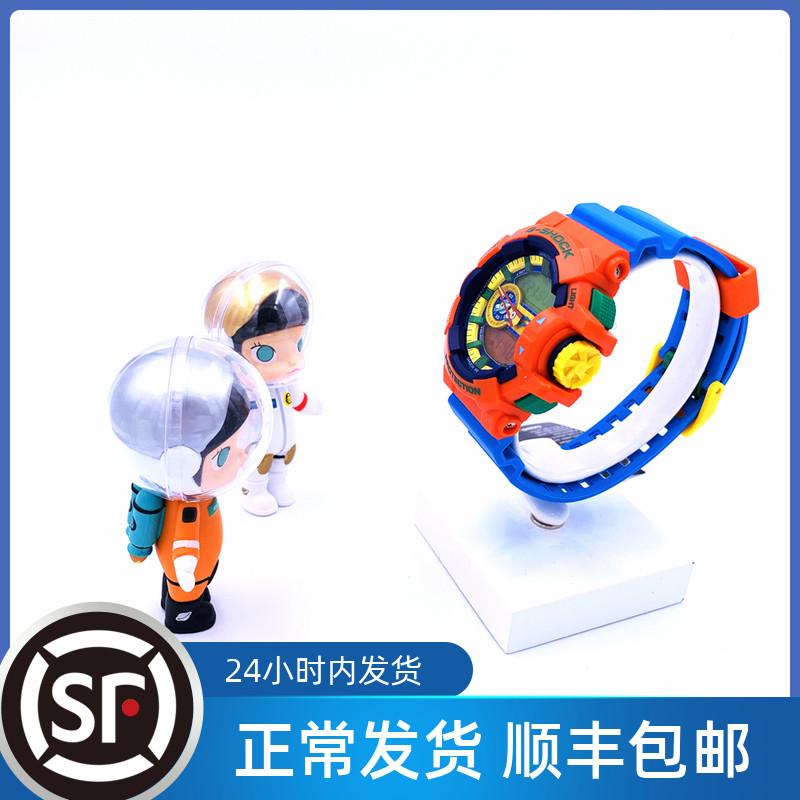 カシオ腕時計G-SHOCスポーツ防水レゴのおもちゃの配色が止まったGA-400-4 A/2 A