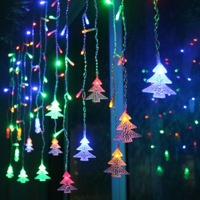 3.5m Christmas Tree Garland LED String Light Waterproof Rain