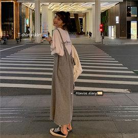设计感吊带裙2020新款夏季女装宽松长款长款休闲连衣裙气质裙子潮