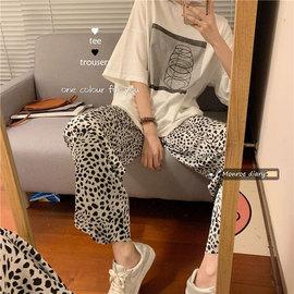 2020新款夏季韩版chic宽松印花白色短袖T恤中长款打底衫上衣女潮
