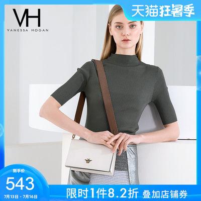 VH女包休闲潮流单肩包2020新款时尚蜜蜂宽肩带包斜挎包小仙女方包