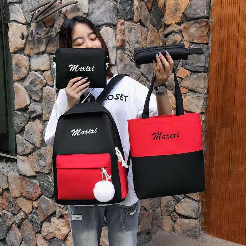 Schoolbag womens Korean version of Harajuku Ulzzang college style Backpack