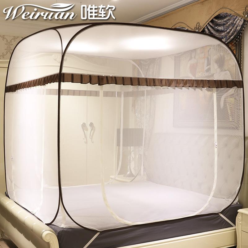 蒙古包蚊帐免安装价格贵吗