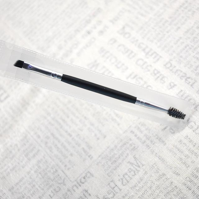 Eyebrow brush one eyebrow brush double head eyebrow sweeping makeup brush eyebrow powder brush eyebrow pencil brush eyebrow trimming brush eyebrow glue brush eyelash brush