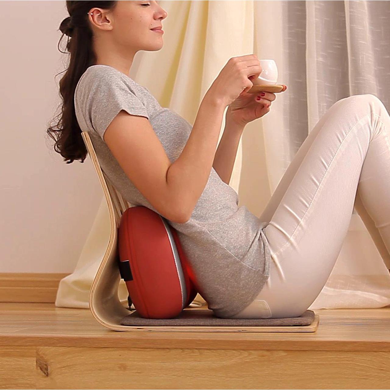 Австралия частица для женского имени официальный многофункциональный массаж талия из массаж подушка автомобиль водитель подушка поясничный ремень массажеры