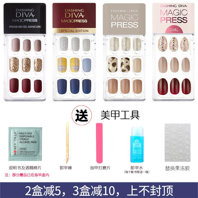 Wearable dashine Diva nail patch