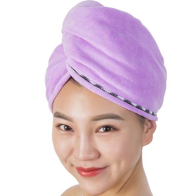 出口日本双层加大加厚超强吸水干发帽干发巾浴帽擦头发巾孕妇儿童
