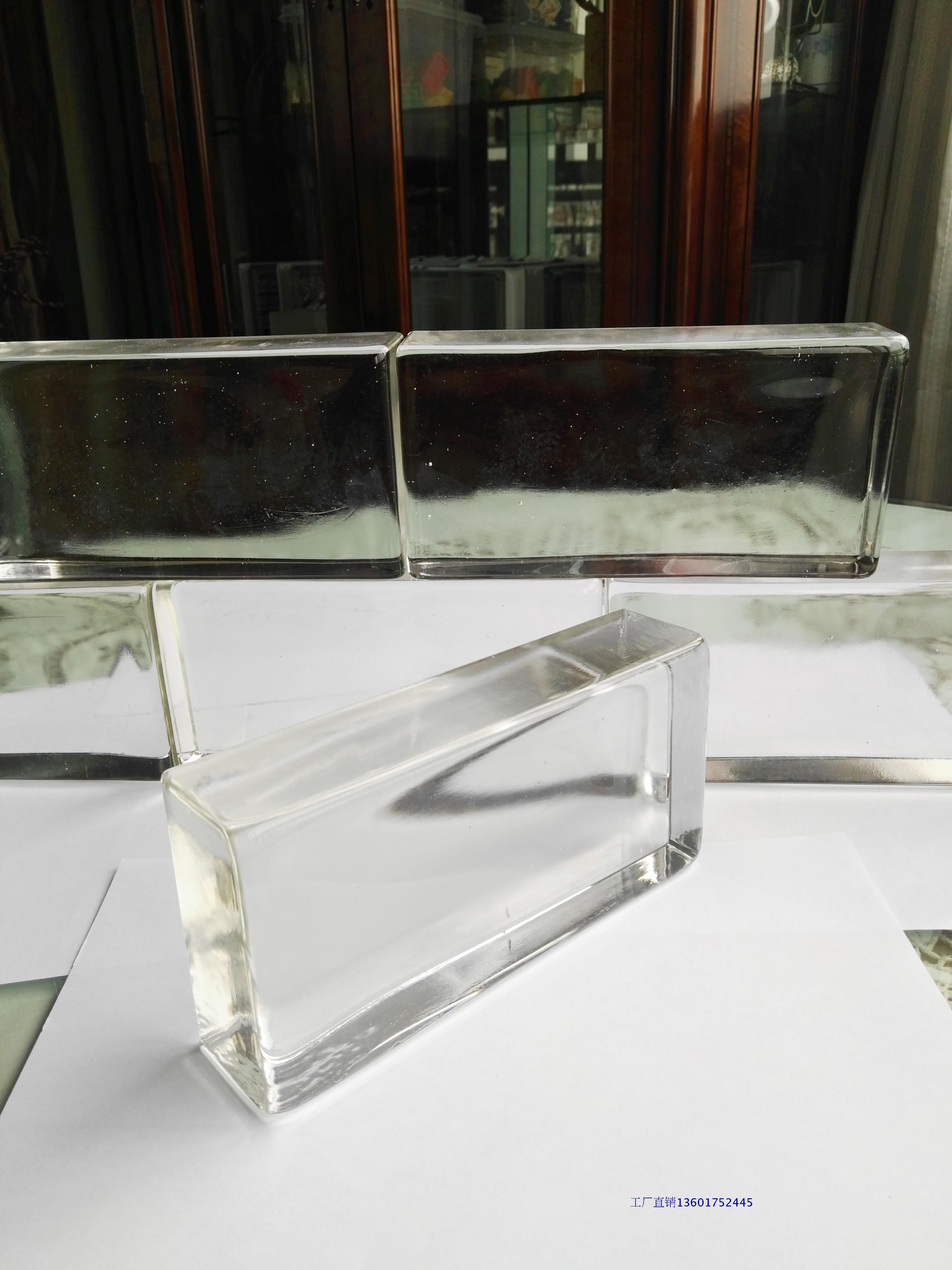 Прямоугольник закругленные края полупрозрачная твердый стекло кирпич стекло кирпич отрезать стена вход фон стена