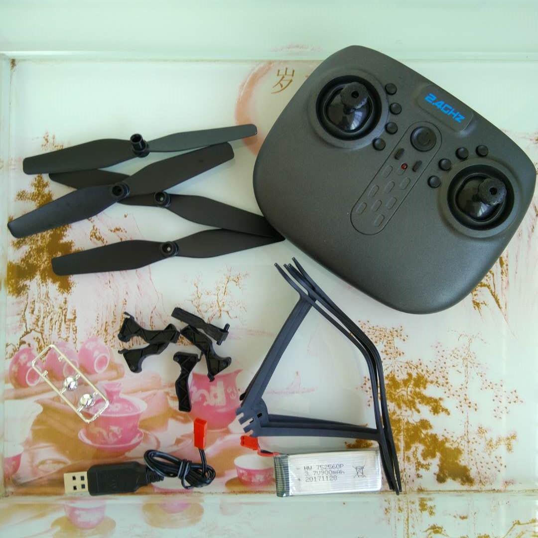 Drone A6高清航拍8807摺疊無人機XS809W四軸飛行器遙控飛機配件