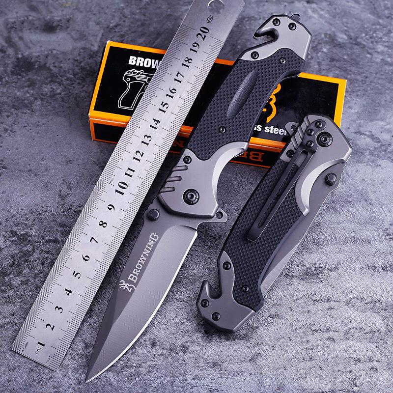 折叠刀户外瑞士军士刀具防身军工小刀军刀锋利蝴蝶水果刀便携随身