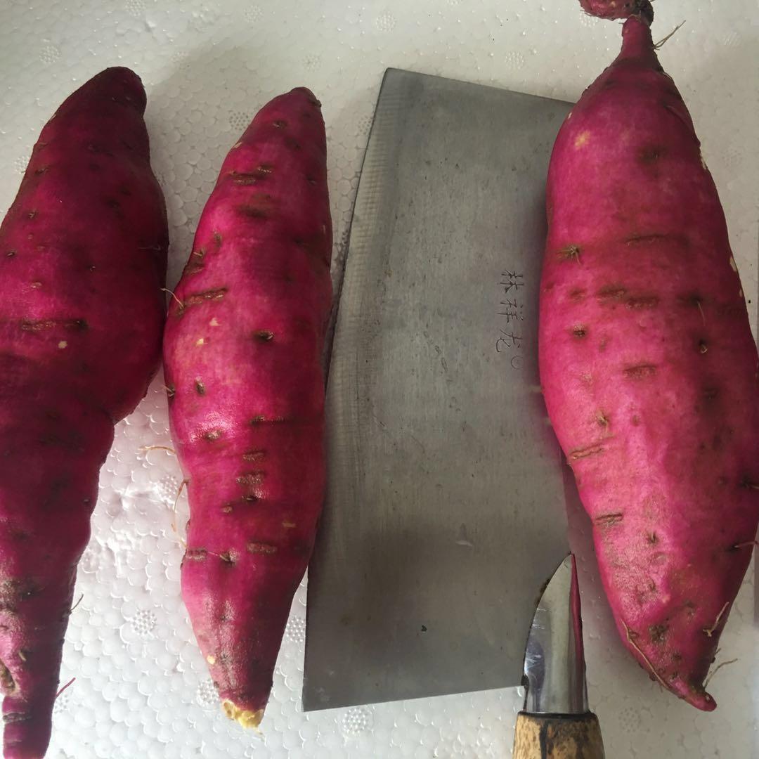 大号红薯圆形鸡蛋薯小红薯临安红薯新鲜板栗薯小香薯地瓜山芋5斤