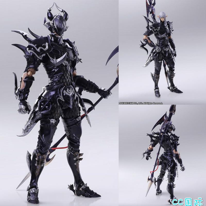 正版 SQUARE ENIX 龙骑士 埃斯蒂尼安 最终幻想14 手办