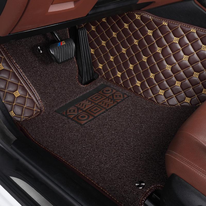 全包圍汽車腳墊 於寶馬5係3係525li奔馳glc260奧迪A6L A4L Q5